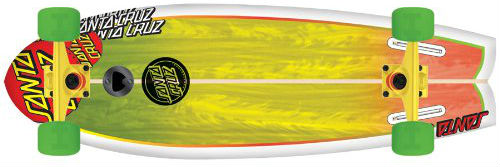 santa cruz land shark longboard