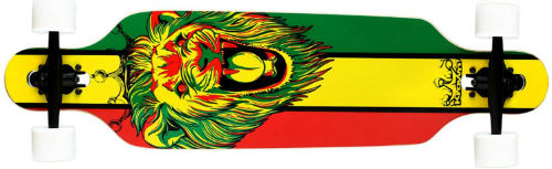 krown rasta freestyle longboard
