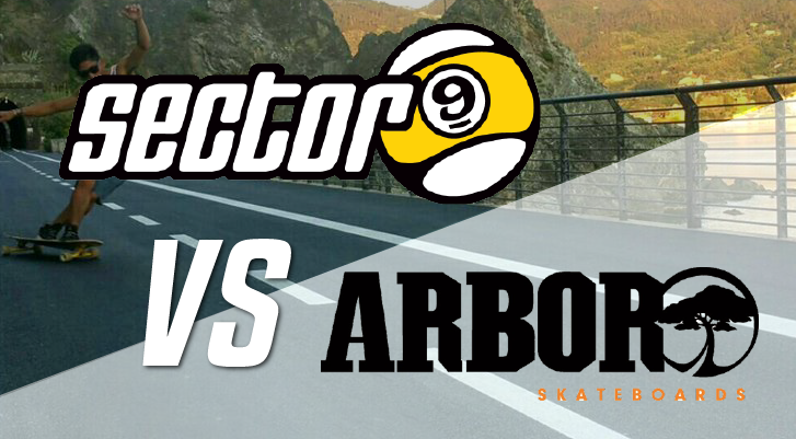 sector 9 vs arbor longboards