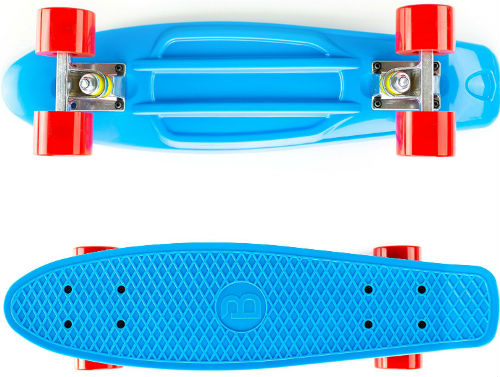 blue boss board complete skateboard