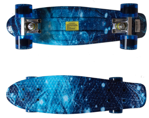 rimable plastic penny board