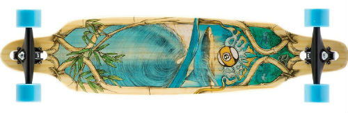 sector9 bamboo lookout longboard