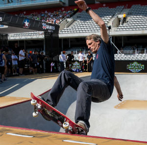 tony hawk x games