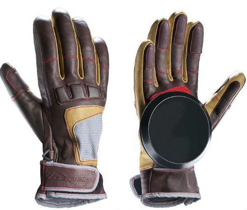 loaded advanced rider sliding gloves